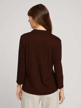 Henley shirt with chest pockets - 2 - TOM TAILOR