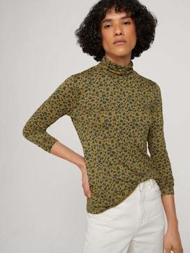 Jersey turtleneck shirt - 5 - TOM TAILOR