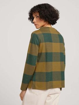Checkered sweatshirt - 2 - TOM TAILOR