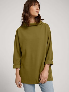 Sweatshirt met opstaande kraag - 5 - TOM TAILOR