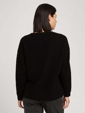 Sweatshirt met zijsplitten - 2 - TOM TAILOR
