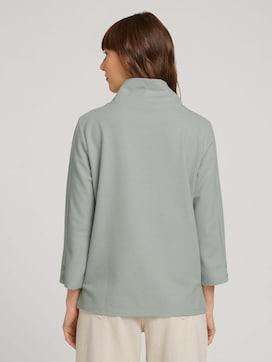 3/4-sleeved turtleneck shirt - 2 - TOM TAILOR