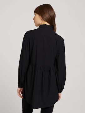 Long shirt blouse with ruffles - 2 - TOM TAILOR