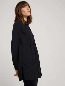 Long shirt blouse with ruffles - 5 - TOM TAILOR