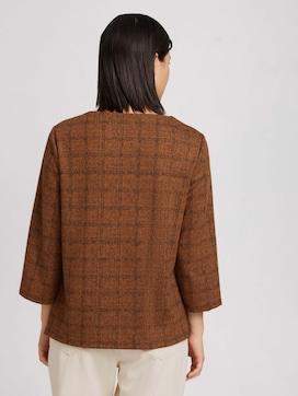 Sweatshirt met ruitjespatroon - 2 - TOM TAILOR