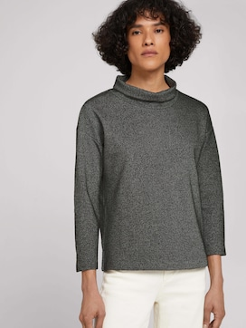 Loose Fit-sweatshirt met rolkraag - 5 - TOM TAILOR