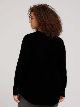 Plus - Bluse aus fließender Viskose - 2 - My True Me