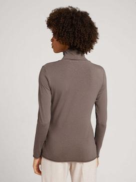 Turtleneck-shirt met modal - 2 - Mine to five