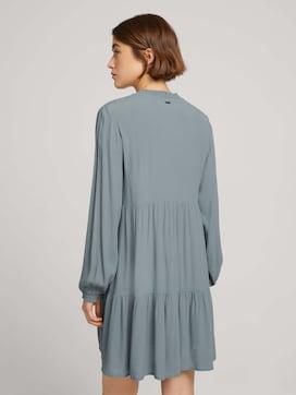 Midi Kleid mit Faltenlegung und Schleife - 2 - TOM TAILOR Denim