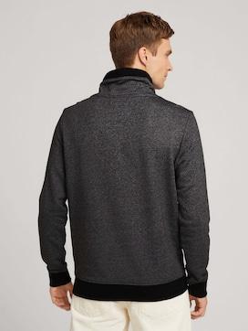 Sweatshirt met opstaande kraag en trekkoord - 2 - TOM TAILOR
