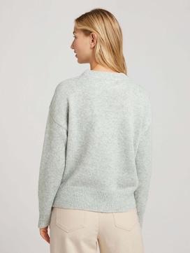 Oversize Pullover mit Muster - 2 - TOM TAILOR Denim