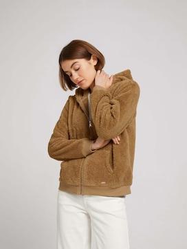Sweatshirtjacke mit Eingrifftaschen - 5 - TOM TAILOR Denim