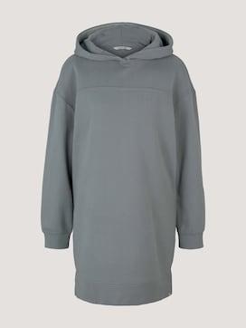 Sweatshirt-jurk met capuchon - 7 - TOM TAILOR Denim