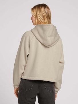 Sweat jacket with raglan sleeves - 2 - TOM TAILOR Denim