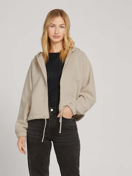 Sweat jacket with raglan sleeves - 5 - TOM TAILOR Denim