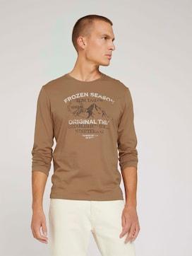 Langarmshirt mit Print - 5 - TOM TAILOR