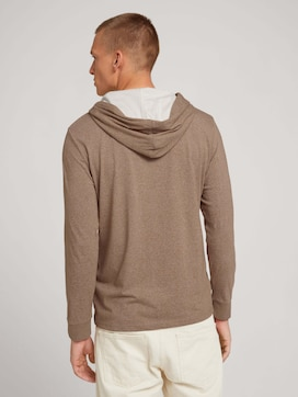 Hoodie with a print - 2 - TOM TAILOR