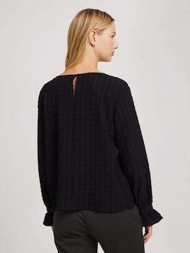 Checked blouse - 2 - TOM TAILOR Denim