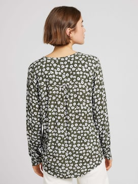 Tunic with a V-neckline and button tab - 2 - TOM TAILOR Denim