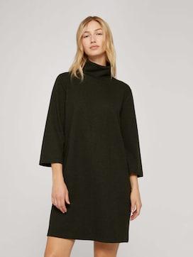 Kleid aus gemustertem Jacquard - 5 - TOM TAILOR Denim