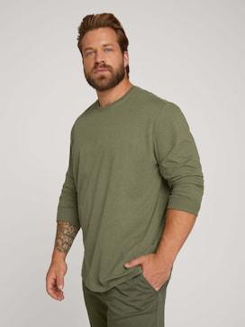 Langarmshirt mit Bio-Baumwolle - 5 - Men Plus
