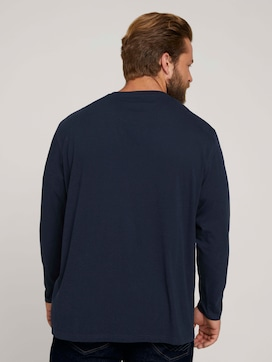 Langarmshirt aus Bio-Baumwolle - 2 - Men Plus