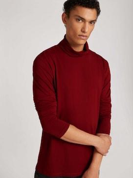 Langarmshirt mit Rollkragen aus nachhaltiger Baumwolle - 5 - TOM TAILOR Denim