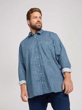 overhemd met motief - 5 - Men Plus