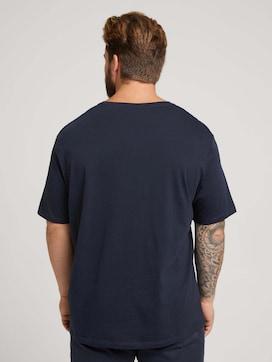 T-Shirt mit Fotoprint - 2 - Men Plus