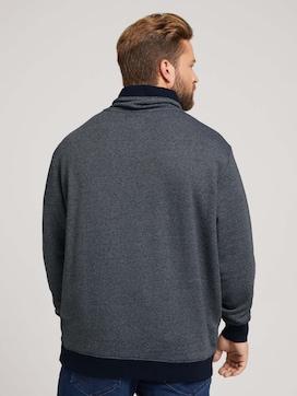Sweatshirt in Melange-Optik - 2 - Men Plus