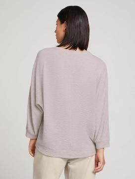 Strukturiertes Shirt mit LENZING(TM) ECOVERO(TM) - 2 - TOM TAILOR