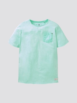 Minimalistisch T-shirt - 7 - TOM TAILOR