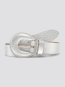 Metallic look riem - 7 - TOM TAILOR