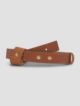 Leder-Taillengürtel mit angebrachter Schlaufe - 7 - TOM TAILOR