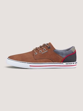 Leather-look sneakers - 7 - TOM TAILOR