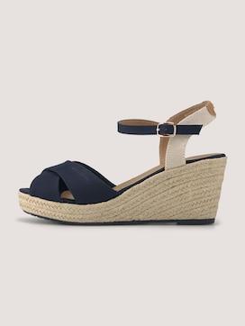 Sandaletten mit Keilabsatz - 7 - TOM TAILOR