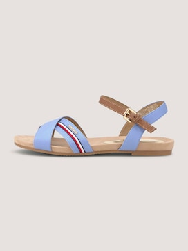 sandals with striped details - 7 - TOM TAILOR
