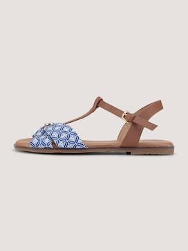 Sandalen met stoffenpatroon - 7 - TOM TAILOR