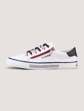 Sneaker mit Reißverschluss-Details - 7 - TOM TAILOR Denim