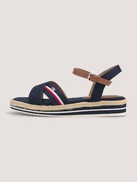 Sandale mit Streifendetail - 7 - TOM TAILOR Denim