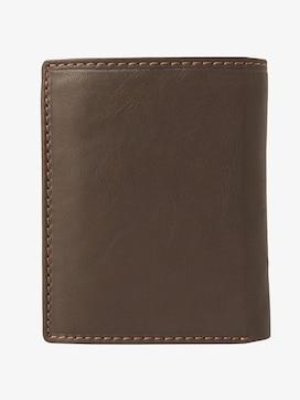 slim leather wallet - 2 - TOM TAILOR