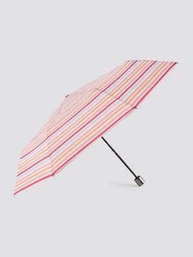 gemusterter Regenschirm - 7 - TOM TAILOR