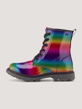 Regenboogkleurige laarzen - 7 - TOM TAILOR