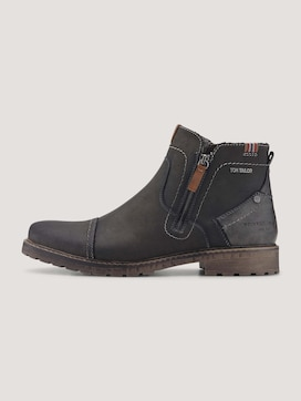 Zip-up ankle boots - 7 - TOM TAILOR