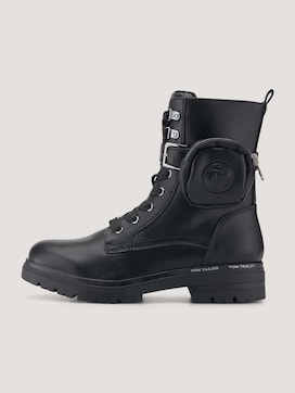 Boot with laces - 7 - TOM TAILOR