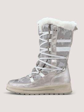 Lined boot with a camouflage pattern - 7 - TOM TAILOR