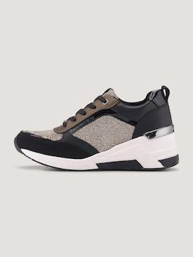 Sneaker with glitter mesh - 7 - TOM TAILOR