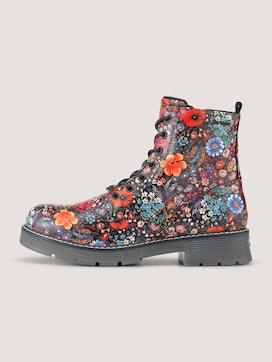 Stiefel mit Blumenmuster - 7 - TOM TAILOR