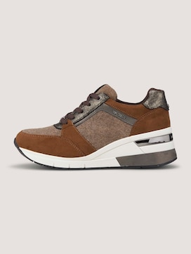 Sneaker mit Filzdetail - 7 - TOM TAILOR