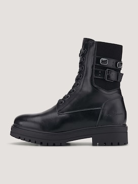 Boot with elastic on the side - 7 - TOM TAILOR
